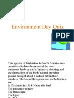 Env Day Quiz