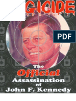 Douglas Regicide the Official Assassination of John F Kennedy 2002