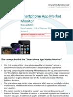 Smartphone App Market Monitor