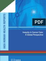 Inequity Cancer Care-IAEA