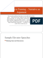 introduction to framing – narrative as argument 3
