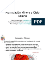 Planificacion Minera a Cielo Abierto