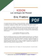 Frattini Eric - Kidon - Los Verdugos Del Mossad