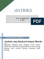 Soal Dan Jawaban Matriks