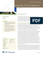 Weekly Economic Commentary 06-06-2011