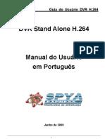 Manual do Usuário DVR H