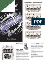 Marshall Blues Breaker II Owners Manual
