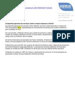 Companhia japonesa de serviços online compra empresa no Brasil - TERRA_07 06 2011