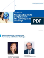 12th May Managing Expatriate Compensation the Currency and Inflation Challenges