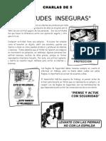 001 Actitudes inseguras