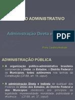 Direito Administrativo_Adm Direta e Indireta