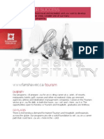 Tourism and Hospitality Cluster