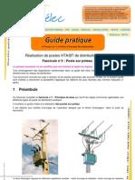 Réalisation de postes HTA/BT de distribution publique
