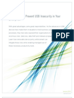 Three Ways to Prevent USB In Security in Your Enterprise