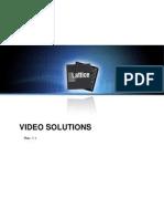 Video Solution V1.1