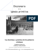 Diccionario de La Iglesia Primitiva