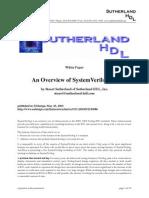 2003-SystemVerilog White Paper
