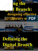 Building the Digital Branch
