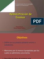 enemas-administración
