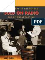 Jim Cox- Sold on Radio Advertisers in the Golden Age of Broadcasting