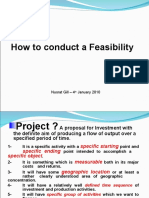 How to Conduct Feasibility