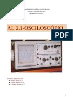 al 2.1 osciloscopio