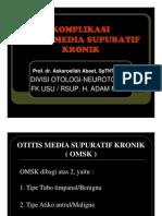 Sss155 Slide Komplikasi Otitis Media Supuratif Kronik
