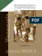 Los Pueblos Indigenas Aislados o Con Poco Contacto en Venezuela