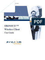 ORiNOCO Wireless Client User Guide