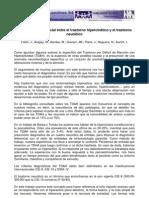 Diagnostico Diferencial Entre El Trastorno Hipercinetico y El Trastorno Neurotico