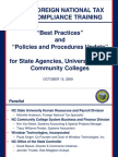 Best Practices and Iat