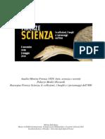 Analise Mostra Firenze Scienza