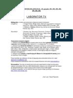 Laborator TV - ZI