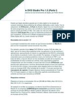 Guía básica de DVD Studio Pro