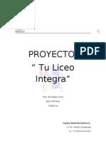 Proyecto Tu Liceo Integra