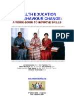 Health Education for Behavior Change - A Workbook to Improve