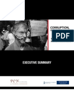 Exec summary Corruption Impunity Silence. On Mexico's War on Journalists (English)