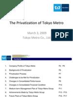 TOkyo MEtro Presentation