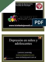 Clase UBA Posgrado Depresion – Lic. Lienvendag