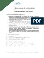 PGRS - Plano de Gerenciamento de Riscos - V.2