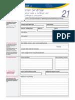 Form 0021
