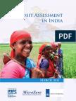 Deposit Assessment in India