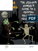 Zombie's Guide To A Haunted Halloween Celebration