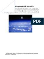 Factorii Geoecologici Din Atmosfera