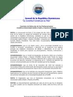 Resolución de designación miembros Parlamento Juvenil PUCMM 2010