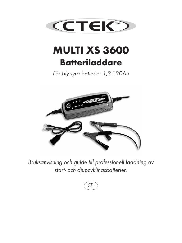 Ctek Multi Xs 3600