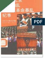 1989北京制止动乱 平息反革命暴乱纪事