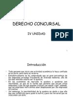 Derecho Concursal IV Unidad