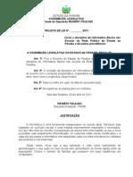 Projeto de Lei N° 88.2011- Inclui a disciplina de Informática Básica nas Escolas da Rede Pública do Estado da Paraíba e dá outras providências.