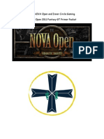 NOVA OPEN 2011 Packet Fantasy